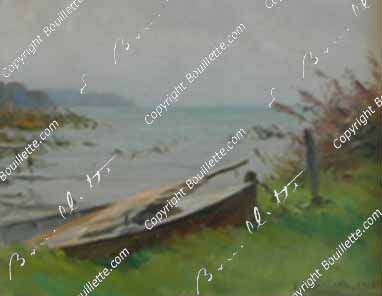 Barque amarrée