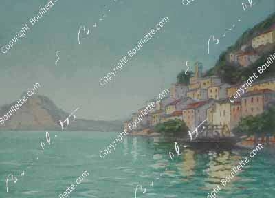 Gandria, lac de Lugano, TI