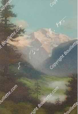Jungfrau avec deux nuages, VS