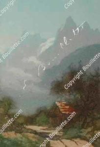 matin sur les Aiguilles de Chamonix